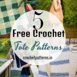 5 Free Crochet Tote Patterns