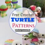 15 Free Crochet Turtle Patterns For Your Children