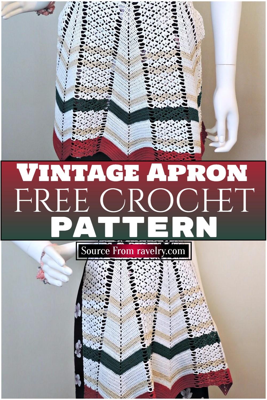 Free Crochet Vintage Apron Pattern