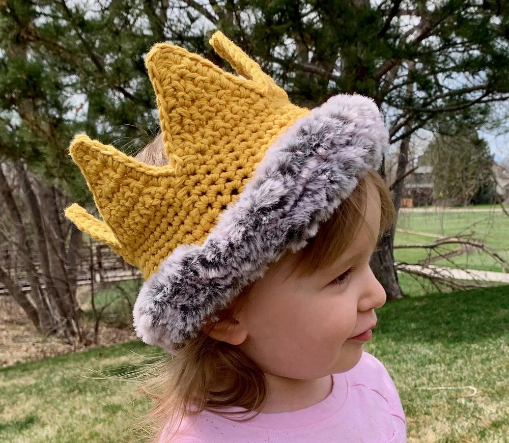 Free Crochet Wild Child Crown Pattern