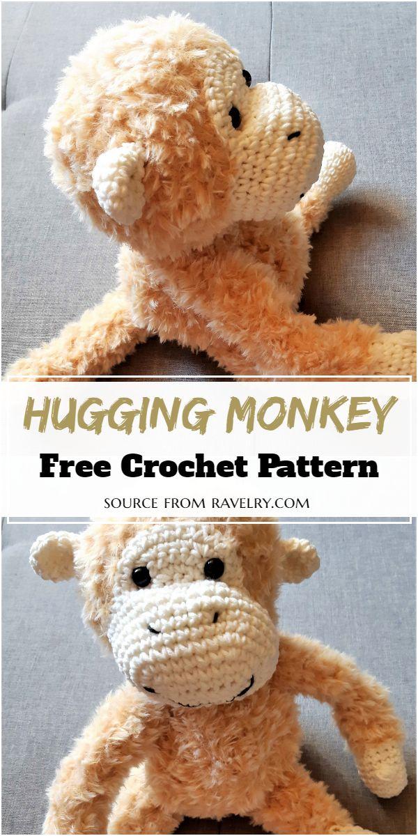 Hugging Crochet Monkey Pattern