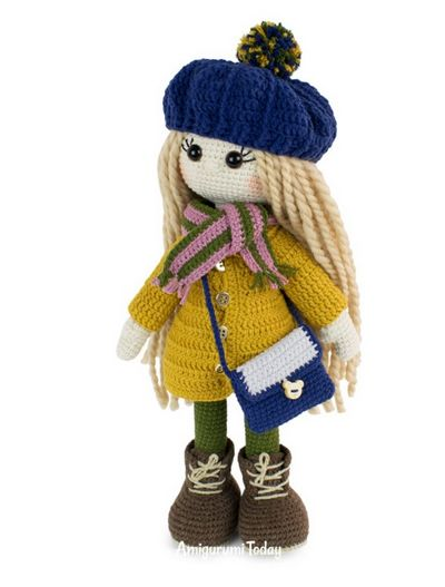 Kelly Crocheted Doll Clothes Pattern With Complete Instructions