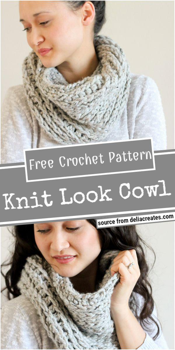 Knit Look Free Pattern