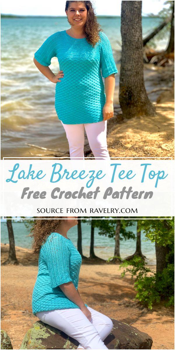 Lake Breeze Top Pattern