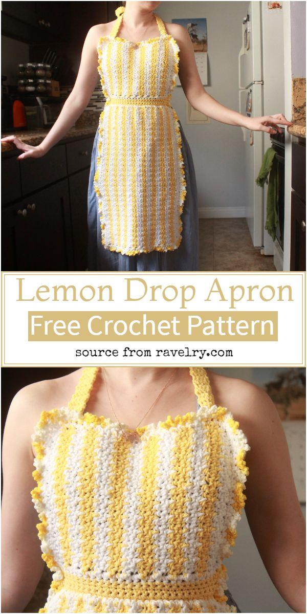 Lemon Drop Apron Pattern