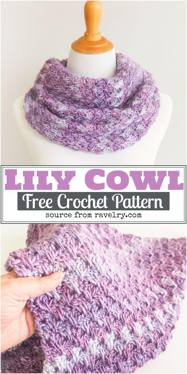 Lily Crochet Cowl Pattern