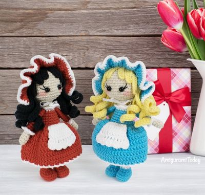Lolita Amigurumi Crochet Doll Pattern