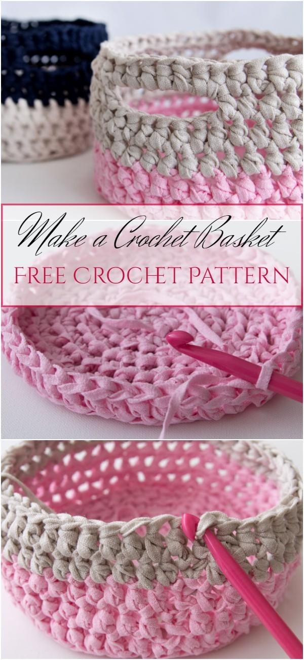 Make a Crochet Basket