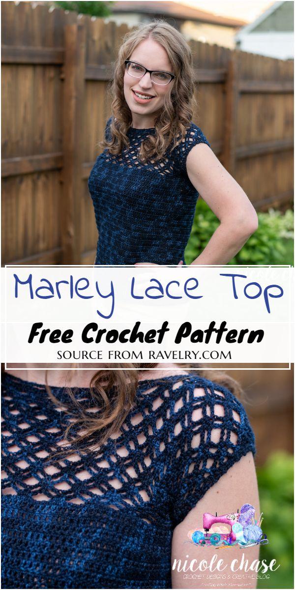 Marley Lace Top Crochet Pattern