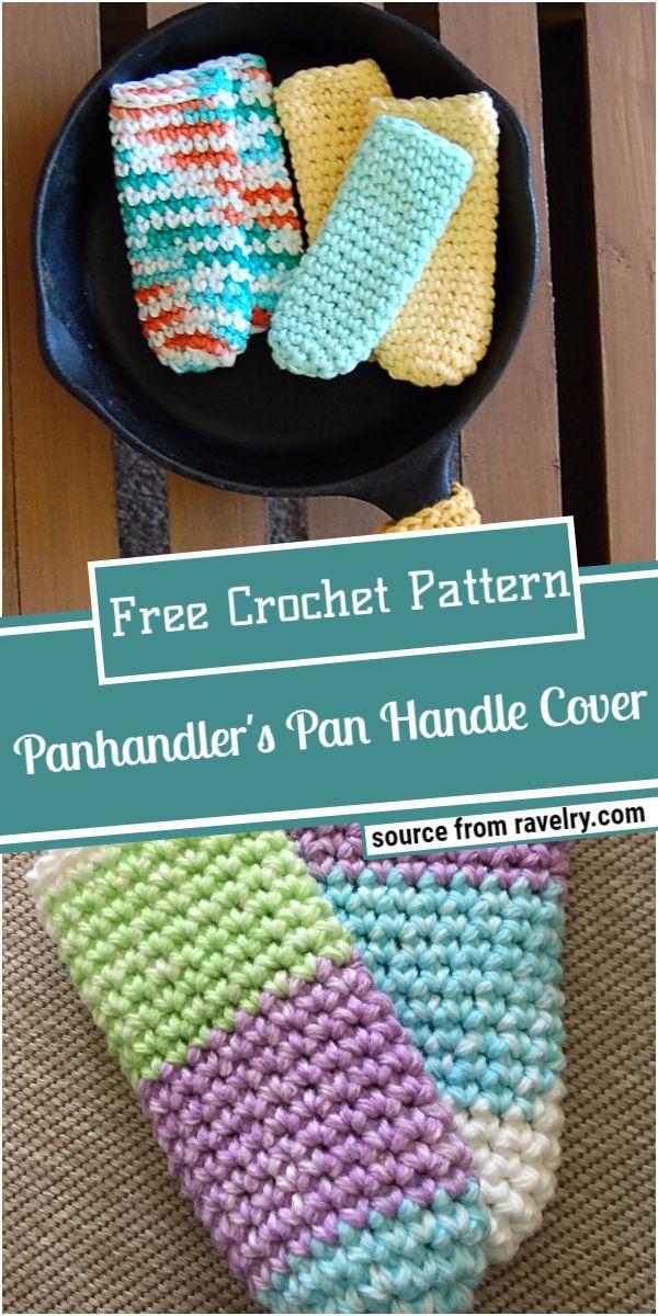 Panhandler's Crochet Pan Handle Cover Pattern