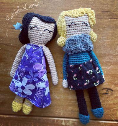 Rag Crochet Doll Pattern Free