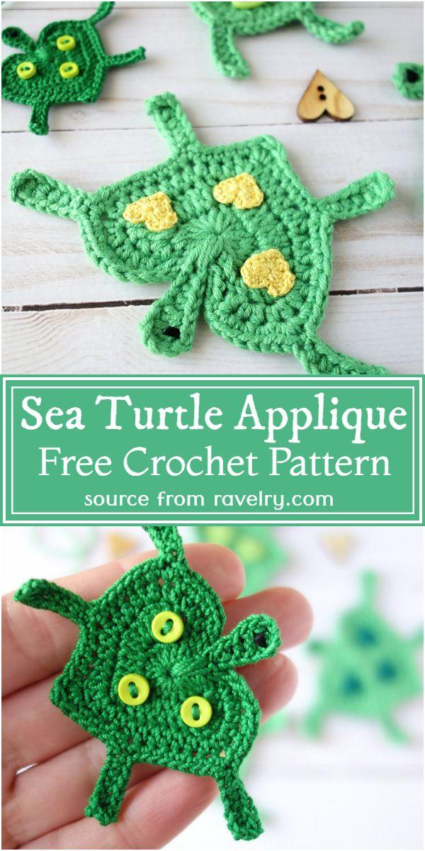 Sea Applique Pattern