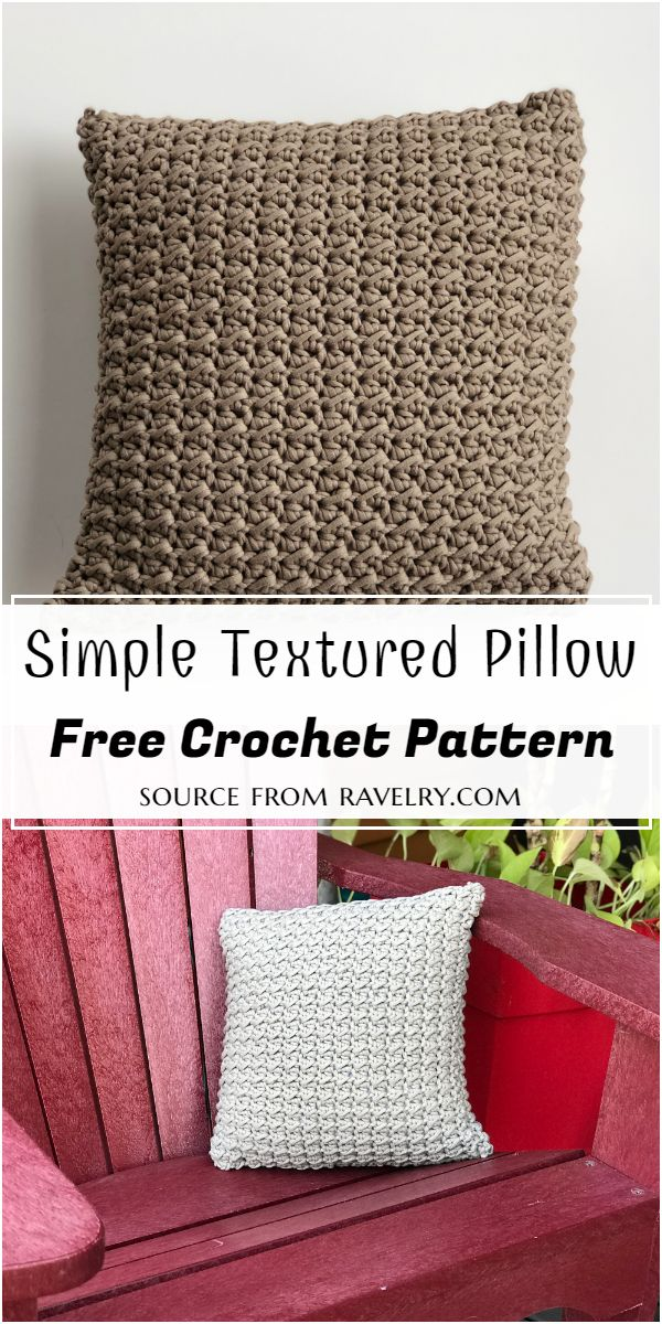 Simple Pillow Pattern