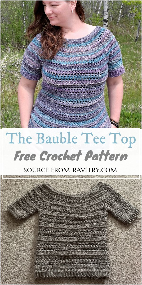 The Bauble Tee Crochet Pattern