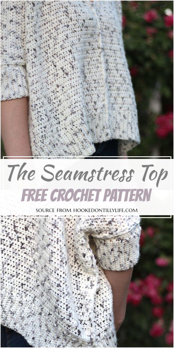 The Seamstress Top Crochet Pattern