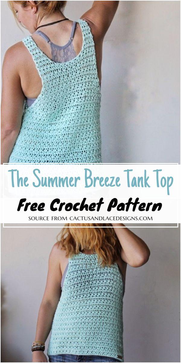 The Summer Breeze Tank Crochet Top Pattern