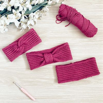 Tramuntana Quick Crochet Headband Free Pattern
