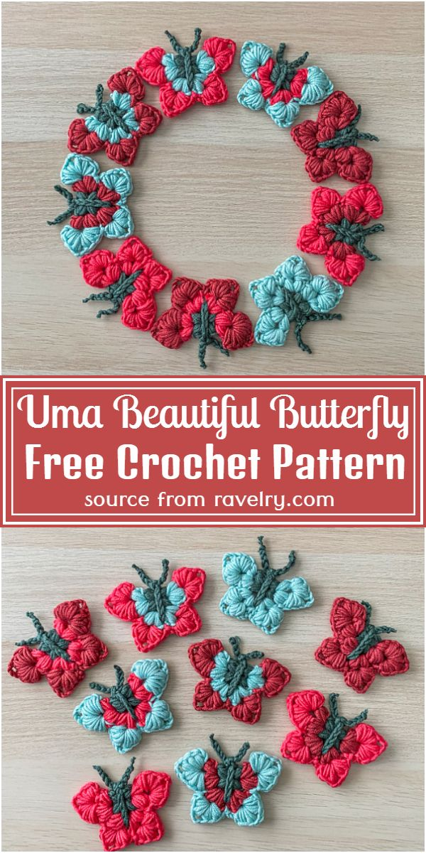Uma Beautiful Butterfly Crochet Pattern
