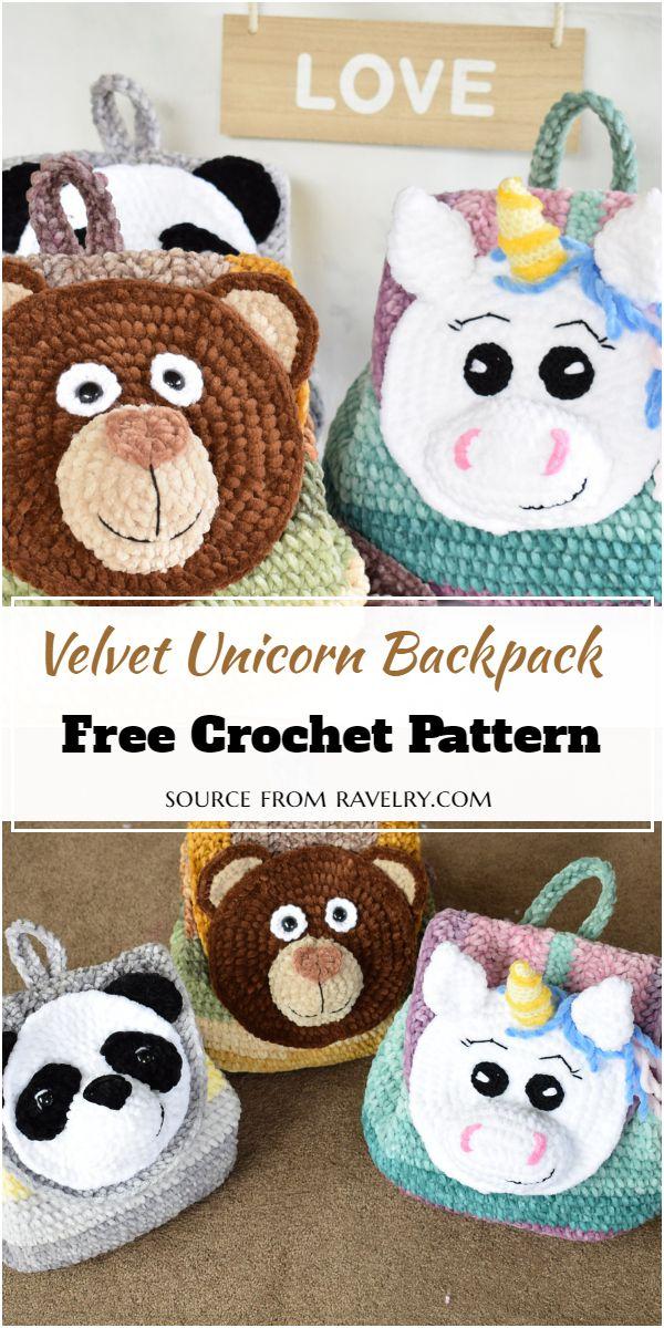 Velvet Unicorn Pattern
