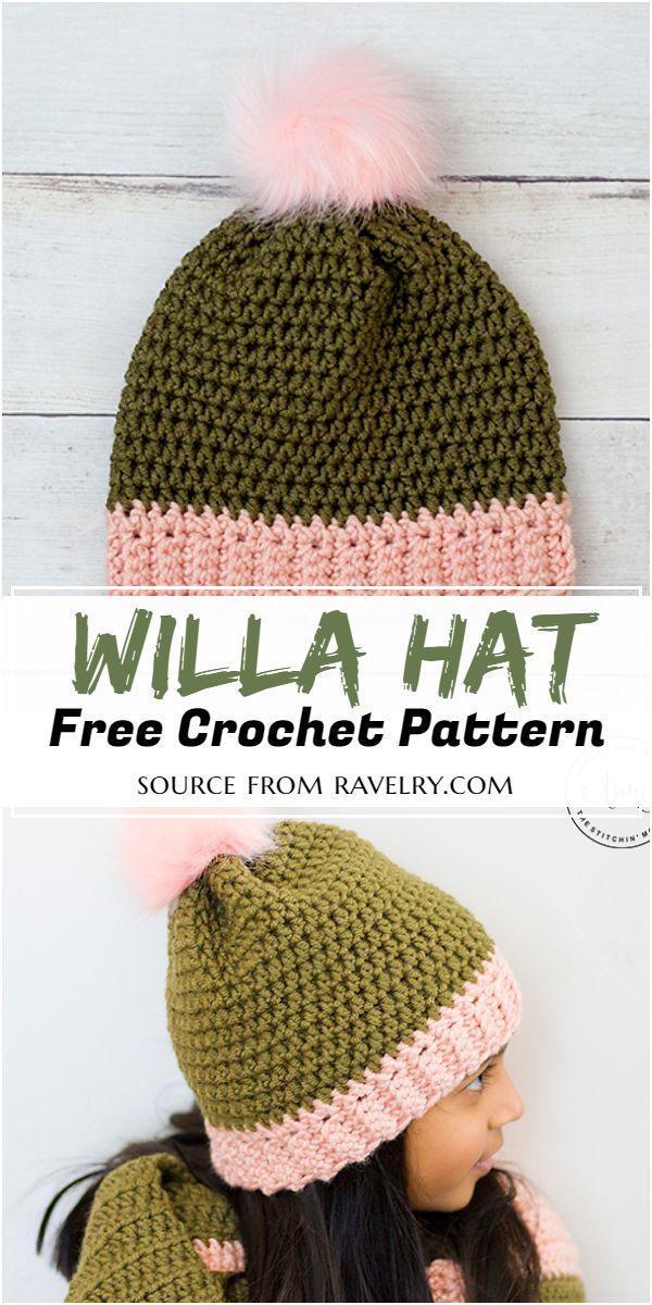Willa Hat Crochet Pattern