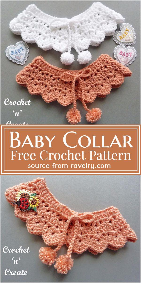 Baby Crochet Collar Pattern