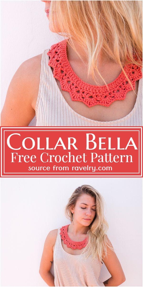 Collar Bella Crochet Pattern