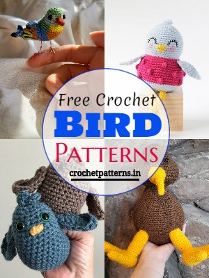 Colorful And Adorable Free Crochet Bird Patterns