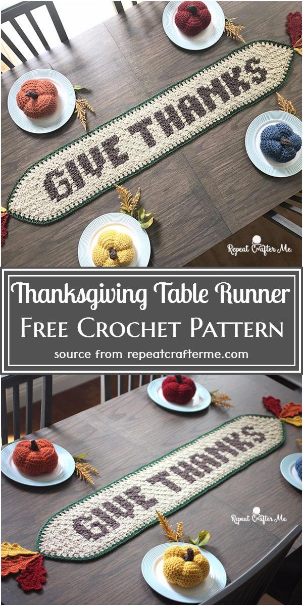 Table Runner Free Pattern
