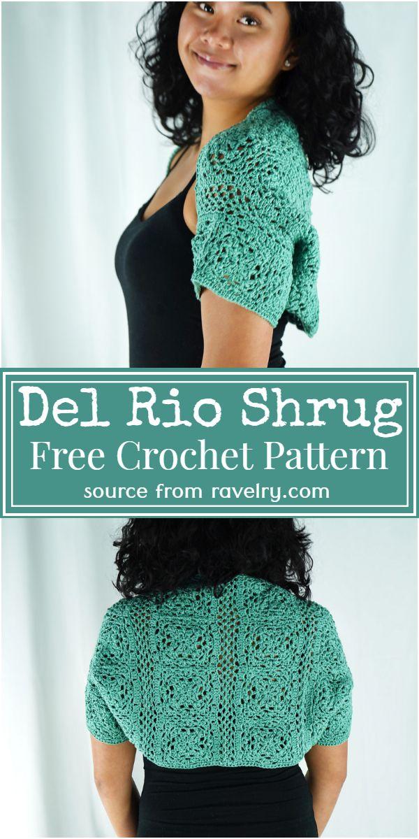 Del Rio Shrug Crochet Pattern