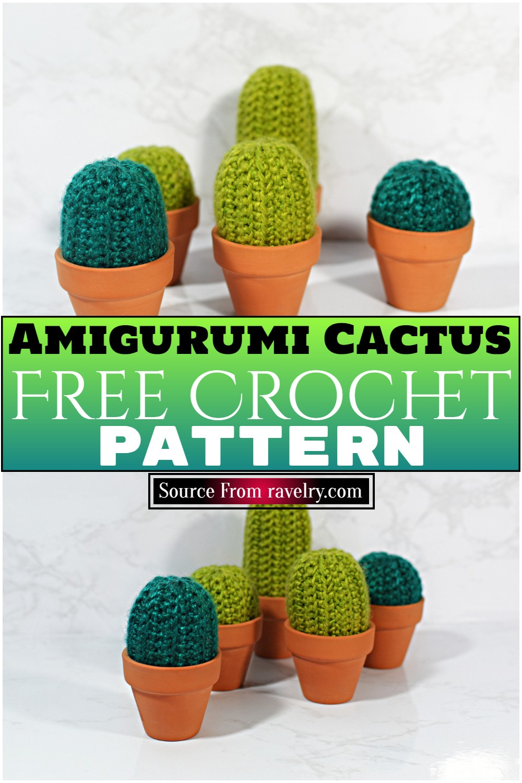 Free Crochet Amigurumi Cactus Pattern