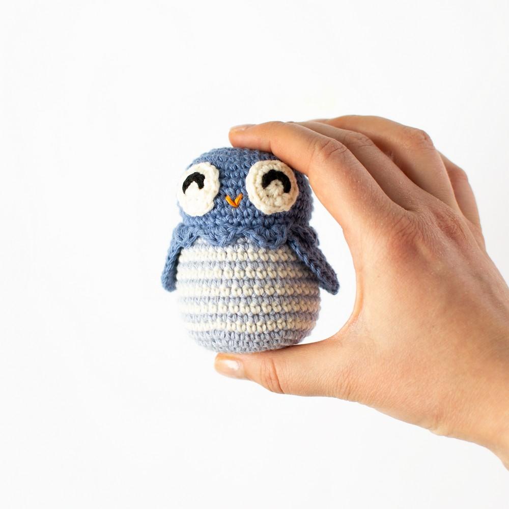 Free Crochet Bob The Owl Pattern