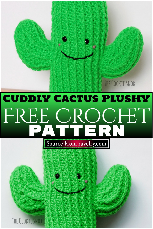 Free Crochet Cuddly Cactus Plushy Pattern