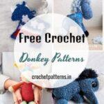 20+ Free Crochet Donkey Patterns