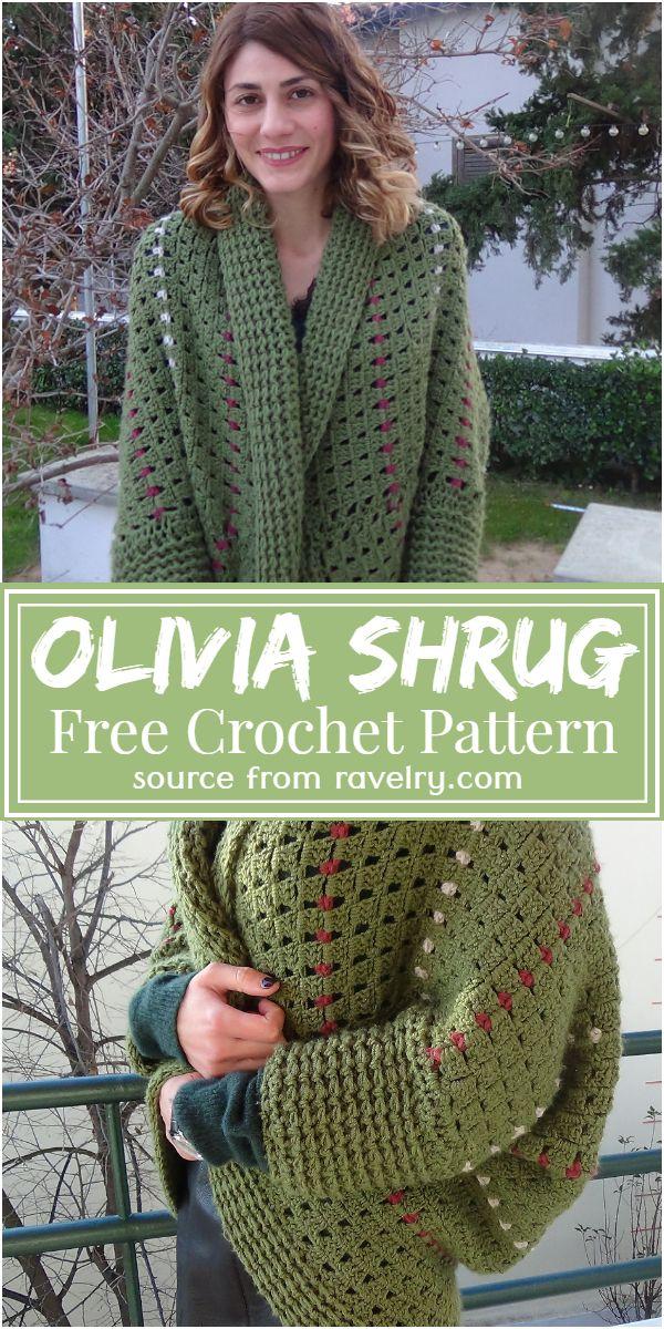 Free Crochet Olivia Shrug Pattern