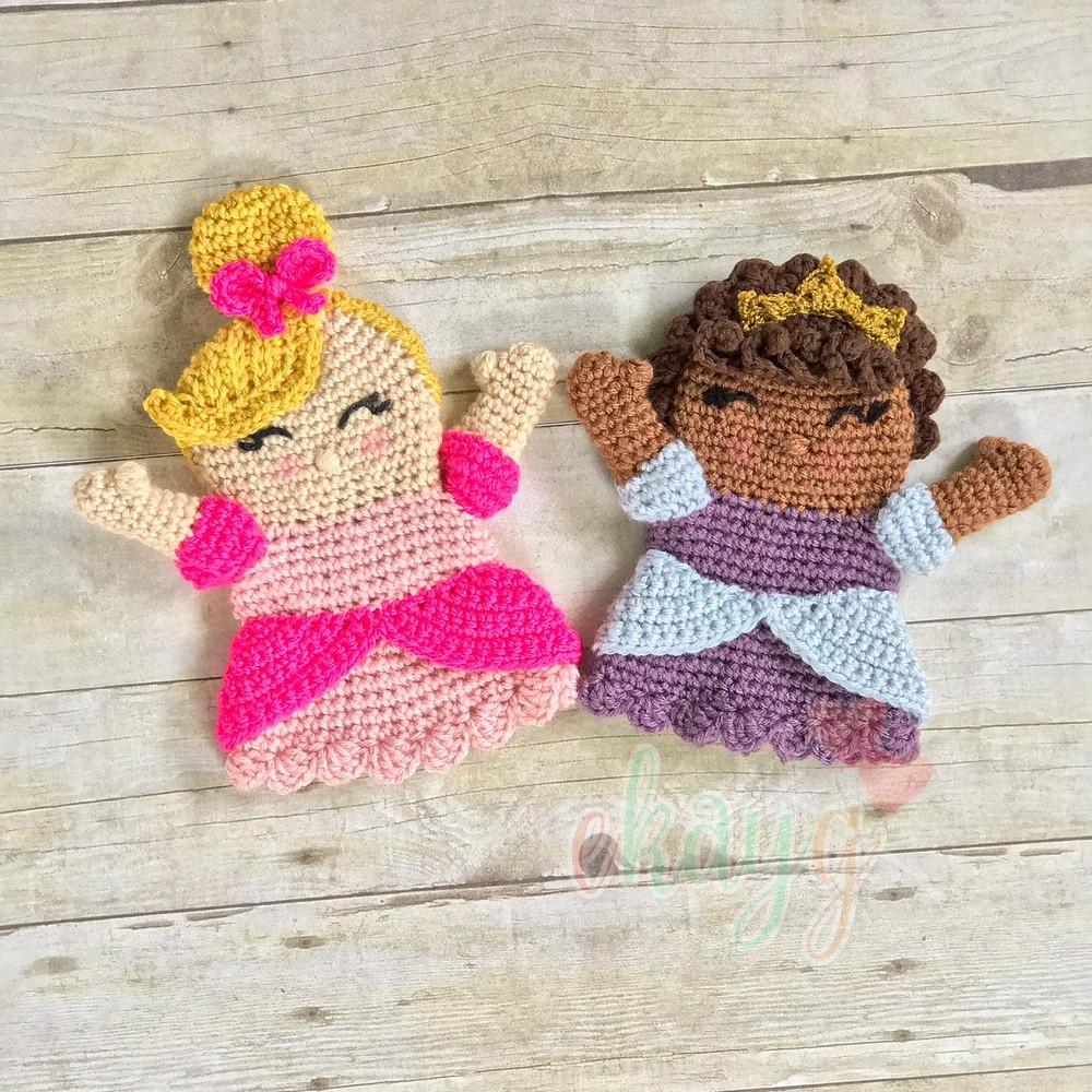 Free Crochet Princess Hand Puppet Pattern