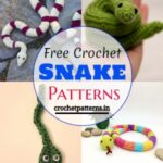 15 Try These Cute Free Crochet Snake Patterns