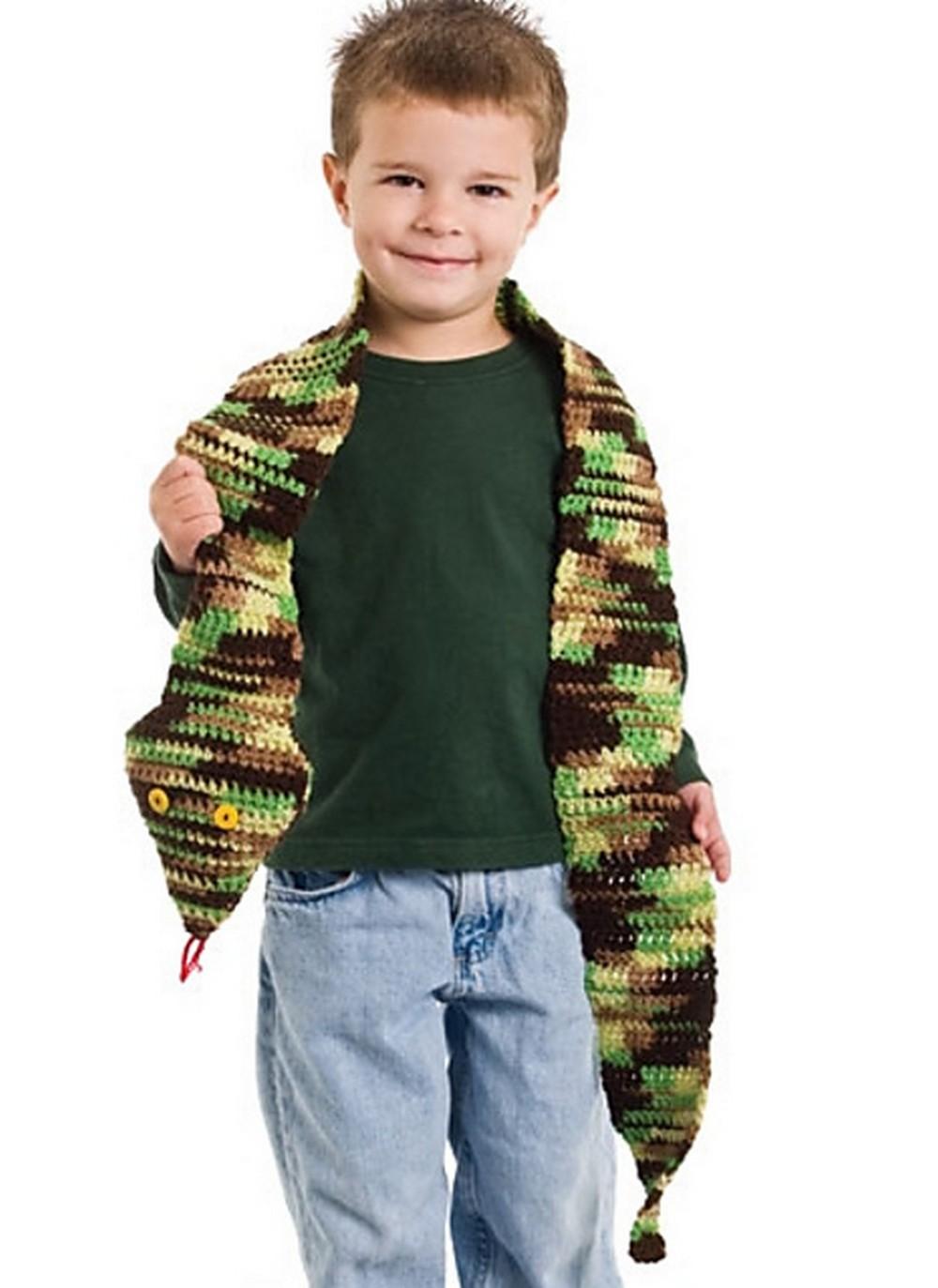 Free Crochet Snakes Alive pattern
