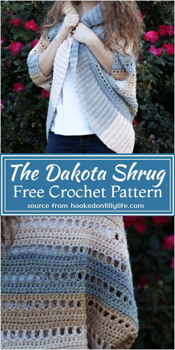 Free Crochet The Dakota Shrug Pattern