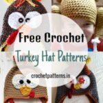 Free Crochet Turkey Hat Patterns For Thanksgiving
