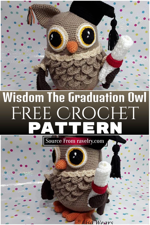 Free Crochet Wisdom The Graduation Owl pattern