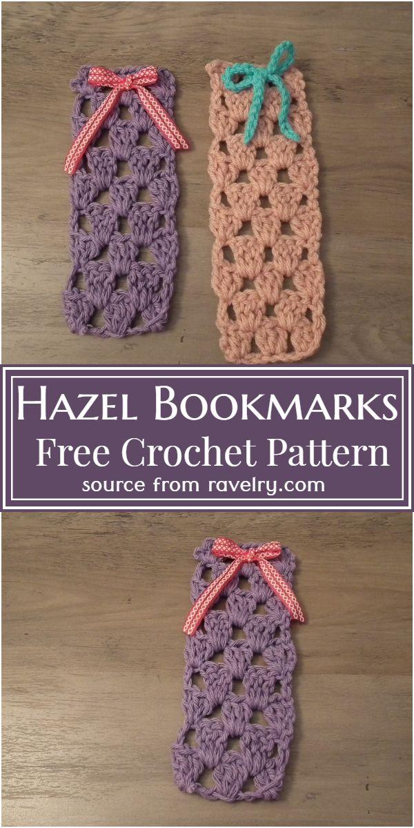 Hazel Crochet Bookmarks Pattern