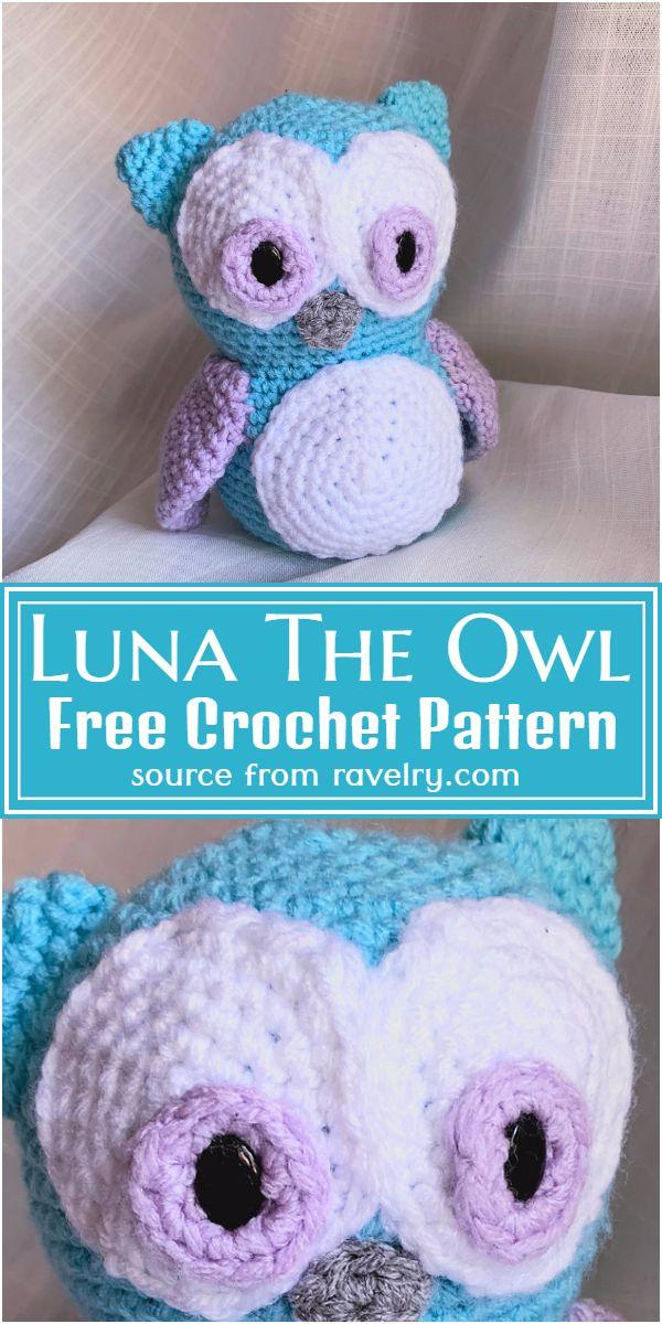 Luna The Crochet Owl Pattern