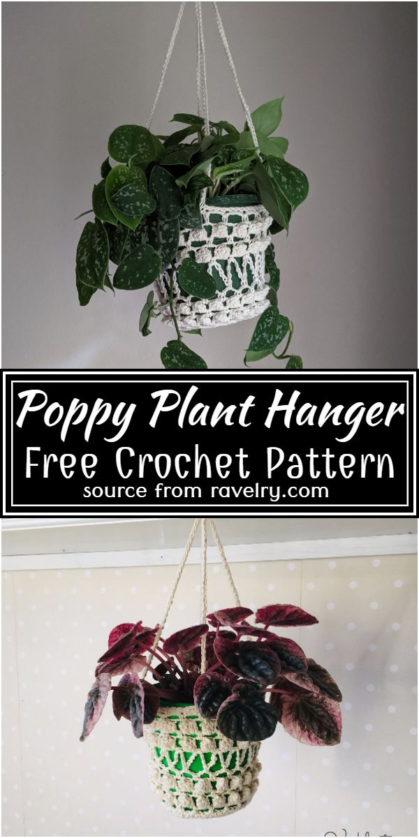 Poppy Pattern for home decoration
