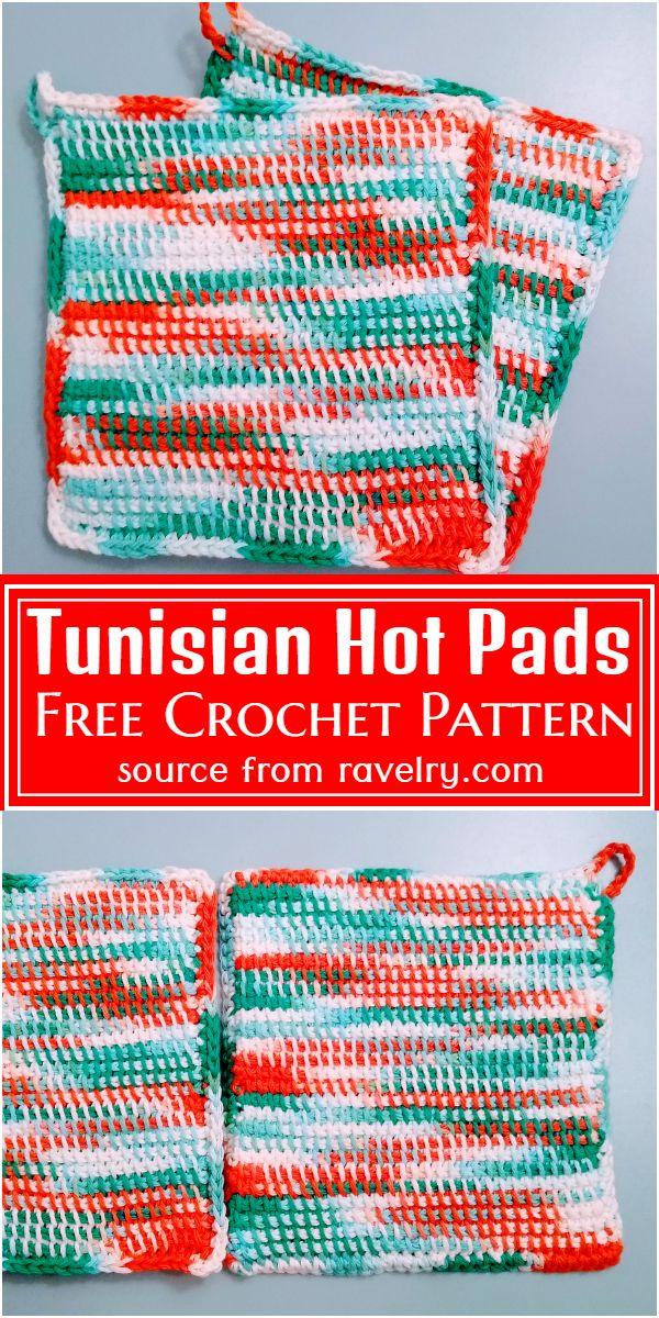 Tunisian Hot  Free Pattern