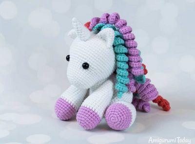 Baby Amigurumi Unicorn Crochet Pattern