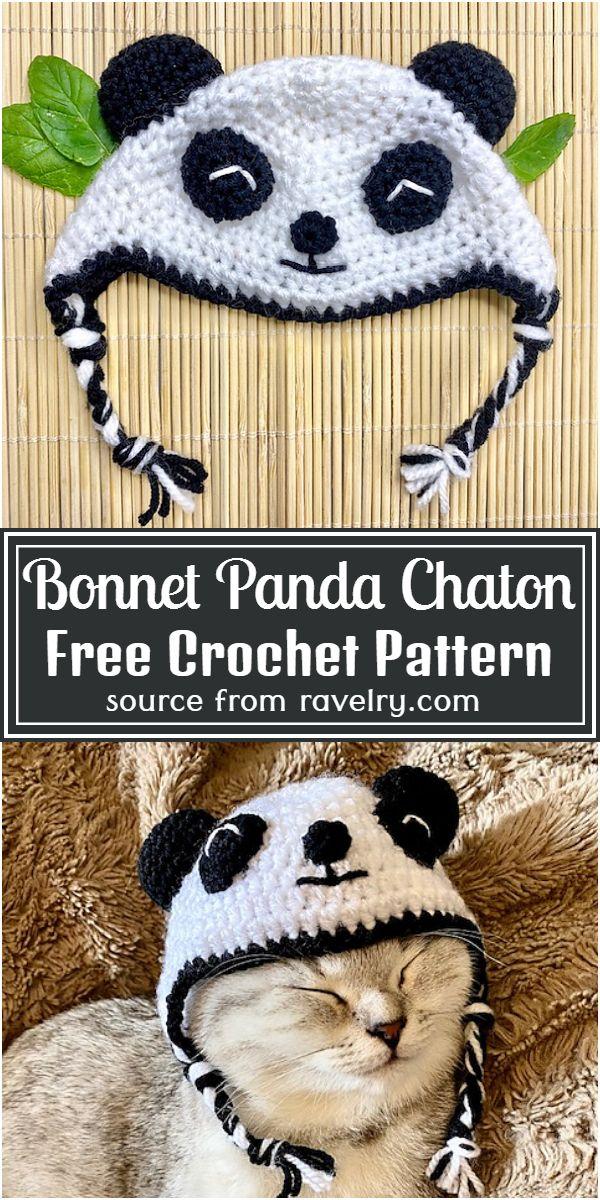 Bonnet Chaton Free Pattern for your pet