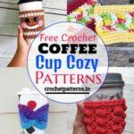 Crochet Coffee Cup Cozy Patterns & Ideas