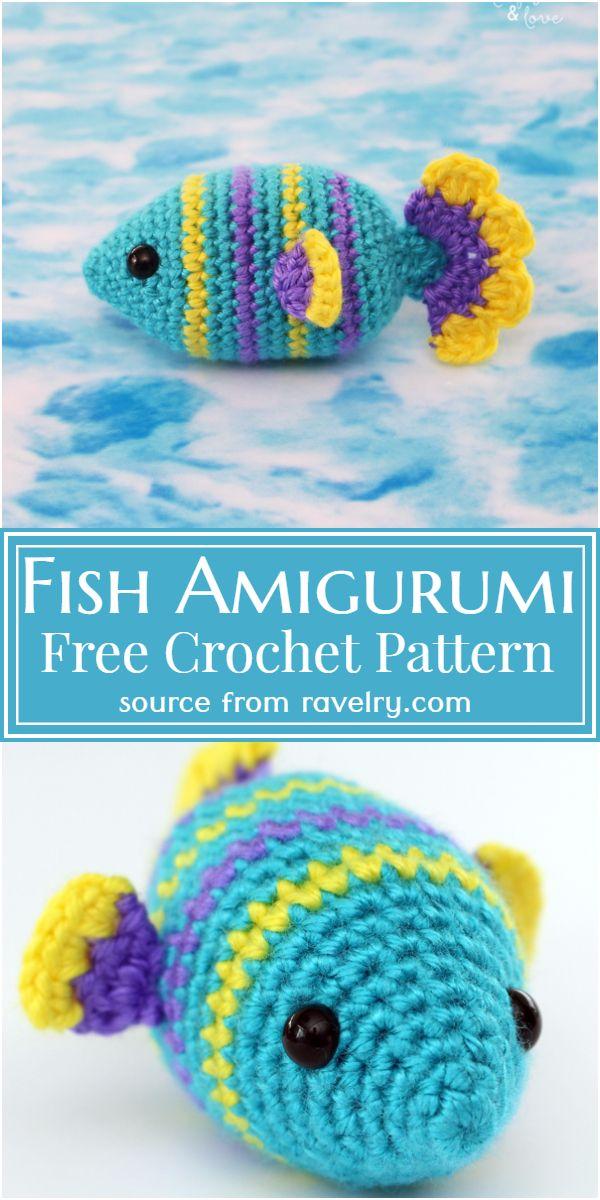 Crochet Fish Amigurumi Pattern