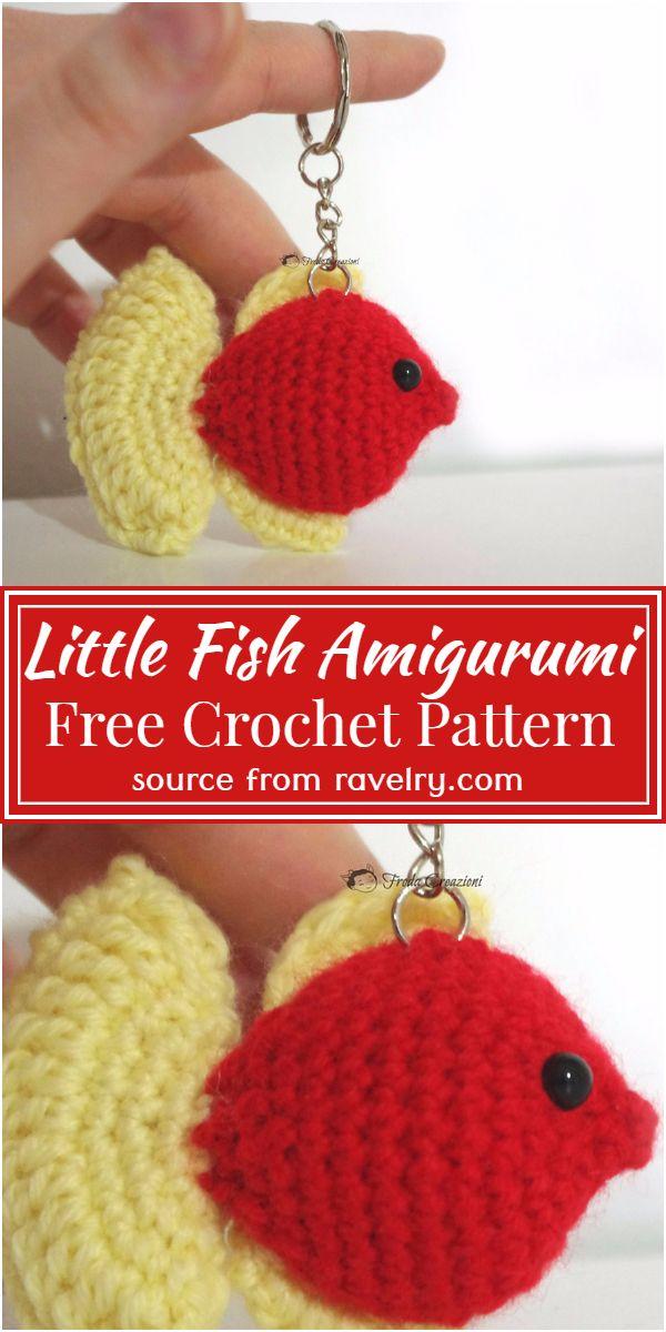 Crochet Little Fish Amigurumi Pattern