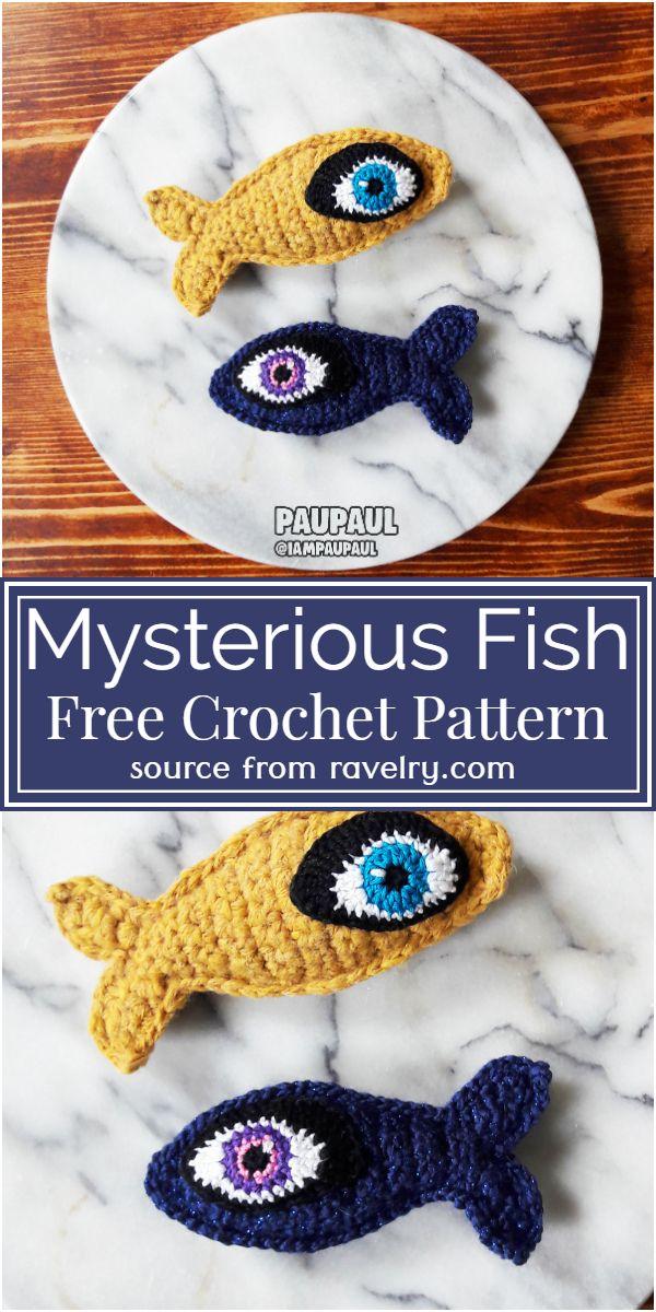 Crochet Mysterious Fish Pattern